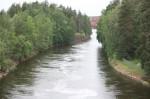 Kymijoki ja Myllykosken hiljennyt tehdas