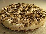 Talvipyöräily-juustokakku - tähän suklaafillareita päälle