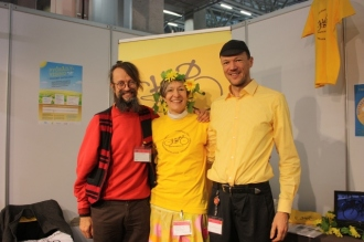 Matti, mip and Jari/Helsinki Cyclists